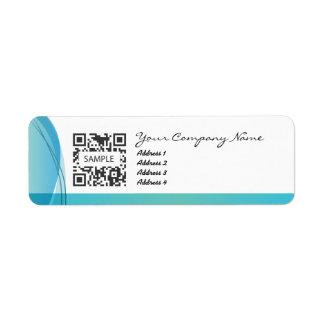 Plantilla de la etiqueta del remite dental etiqueta de remite