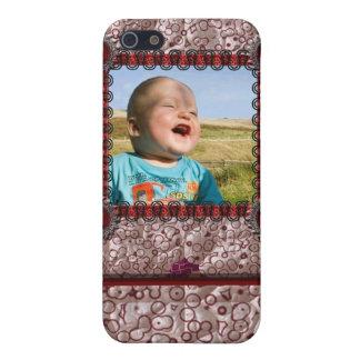 Plantilla de la foto del entusiasta que acolcha iPhone 5 cárcasas