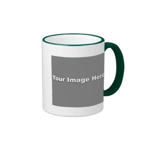Plantilla de la imagen de la taza