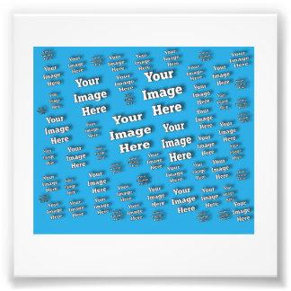 Plantilla de la imagen impresión fotográfica