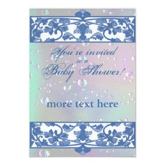 Plantilla de la invitación de la fiesta de invitación 12,7 x 17,8 cm