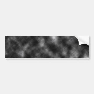 Plantilla de la nube negra etiqueta de parachoque