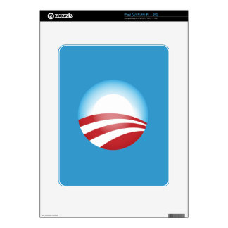 Plantilla de la piel del iPad de Obama Calcomanía Para El iPad
