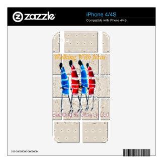 plantilla de la piel del iPhone 4 Calcomanías Para El iPhone 4