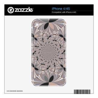 plantilla de la piel del iPhone 4 iPhone 4S Calcomanías