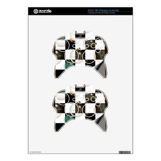 plantilla de la piel del regulador de Xbox 360 Mando Xbox 360 Calcomanía