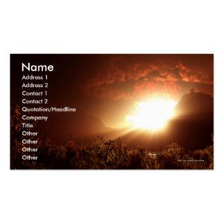 Plantilla de la tarjeta de visita de Babilonia