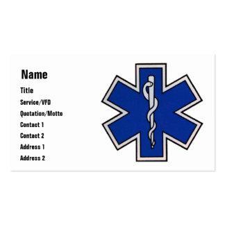 Plantilla de la tarjeta de visita de EMT