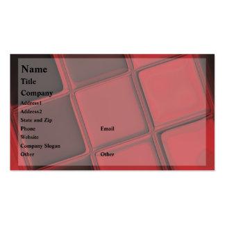 Plantilla de la tarjeta de visita de la exposición