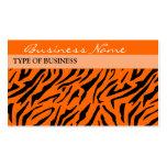 Plantilla de la tarjeta de visita de la impresión