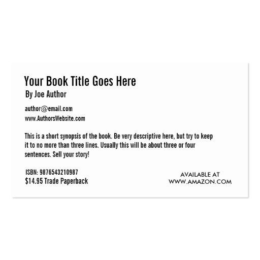 Plantilla de la tarjeta de visita de la promoción
