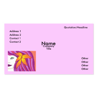 Plantilla de la tarjeta de visita de la regla de l