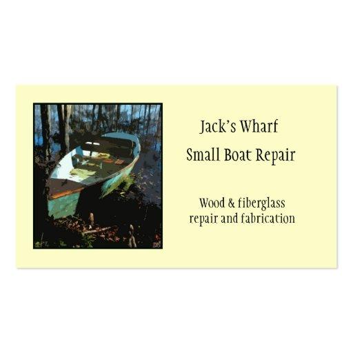 Plantilla de la tarjeta de visita de la reparación