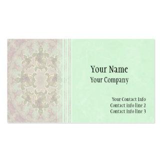 Plantilla de la tarjeta de visita de la tortuga de