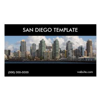 Plantilla de la tarjeta de visita de San Diego