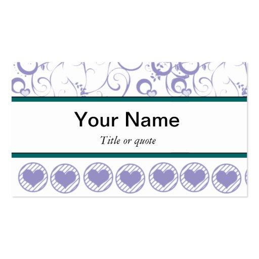 Plantilla de la tarjeta de visita del diseñador