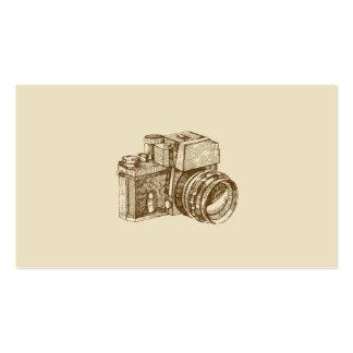 Plantilla de la tarjeta de visita del fotógrafo