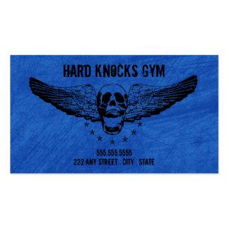 Plantilla de la tarjeta de visita del gimnasio