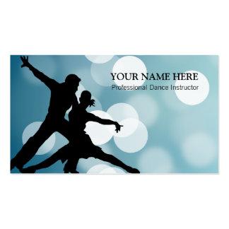 Plantilla de la tarjeta de visita del instructor d