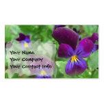 Plantilla de la tarjeta de visita del pensamiento