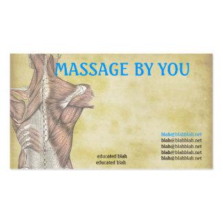 Plantilla de la tarjeta de visita del terapeuta de