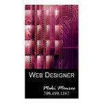 Plantilla de la tarjeta de visita del Web Design-2