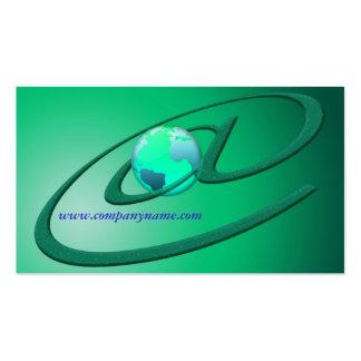 Plantilla de la tarjeta del comercio mundial del plantillas de tarjeta de negocio