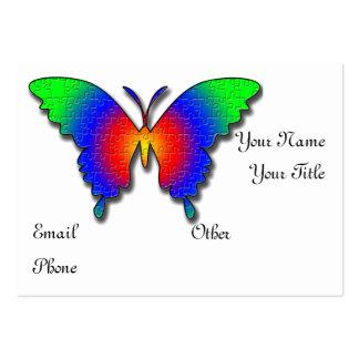 Plantilla de la tarjeta del perfil del negocio de  tarjeta de visita
