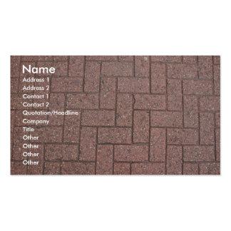Plantilla de la tarjeta del perfil - textura de tarjetas de visita
