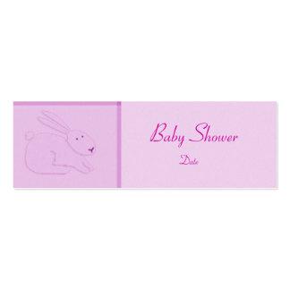 Plantilla de la tarjeta - invitación/ducha del beb plantilla de tarjeta de visita