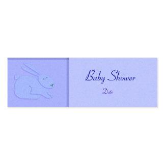 Plantilla de la tarjeta - invitación/ducha del beb tarjeta de visita