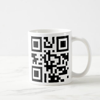 Plantilla de la taza de QRCode