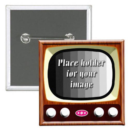 plantilla de la televisión 50s pin