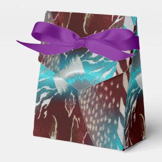 Plantilla de la textura de la pluma caja para regalos