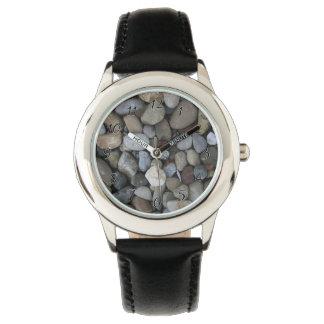 Plantilla de la textura de la roca reloj de mano