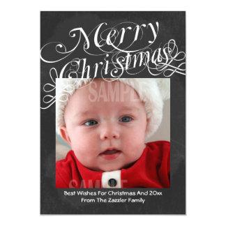 Plantilla de las Felices Navidad de la fuente de