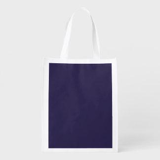Plantilla de los azules marinos bolsas de la compra