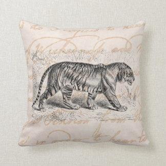 Plantilla de los tigres del ejemplo del tigre del almohada
