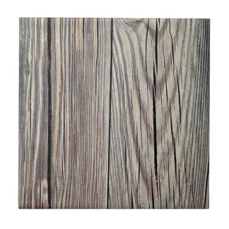 Plantilla de madera resistida del fondo del grano azulejo cuadrado pequeño