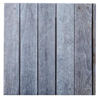 Plantilla de madera resistida del fondo del tablón azulejo cuadrado grande