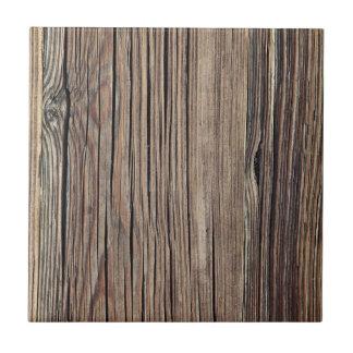 Plantilla de madera resistida del fondo del tablón azulejo cuadrado pequeño