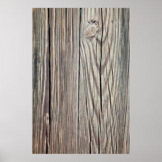 Plantilla de madera resistida del fondo del tablón poster