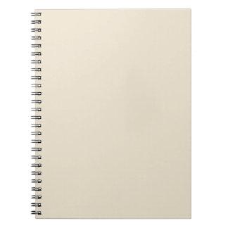 Plantilla de marfil del espacio en blanco de la te cuadernos