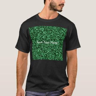 plantilla de mármol verde playera