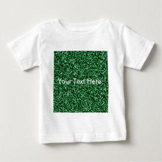 plantilla de mármol verde playera de bebé