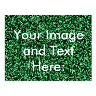 plantilla de mármol verde tarjeta postal