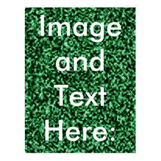 plantilla de mármol verde tarjetas postales