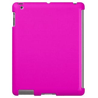 Plantilla de neón del espacio en blanco de la tend funda para iPad