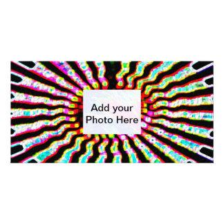 Plantilla de Photocard: Plexos solares de la estre Tarjeta Fotografica Personalizada