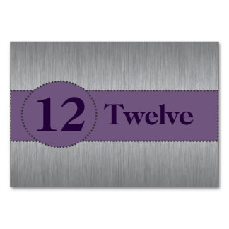 Plantilla de plata y púrpura de la tarjeta de la